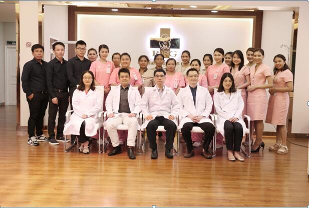 泰国皇家生殖遗传中间专家团队
